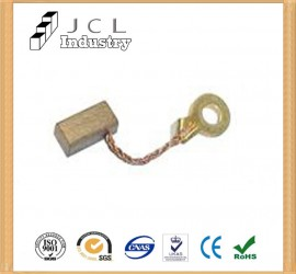 Copper Carbon Brush   JCL carbon brushes manufacturer in china
